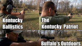 Range Day with The Kentucky Patriot and Kentucky Ballistics