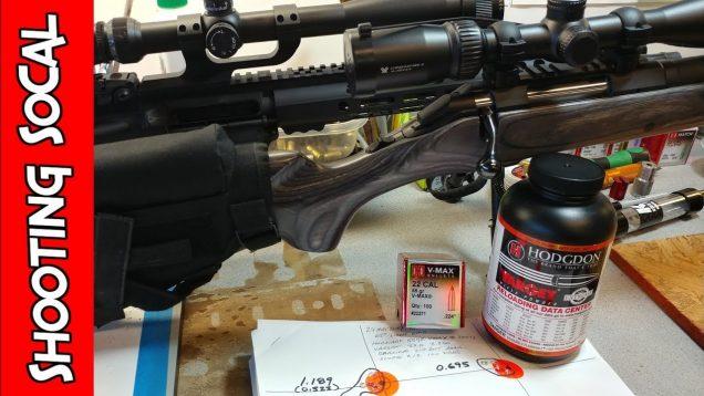 Reloading 223 Hornady 55gr VMAX | Varget | Ruger American Predator and AR15
