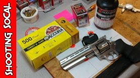 Reloading 38 special / 357 Mag / Titegroup / H110 Part 2