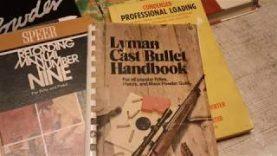 Reloading manuals