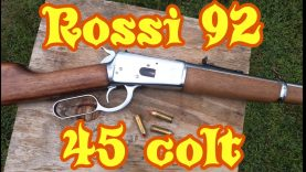 Shooting the 225 grain Hornady FTX in the Rossi 92