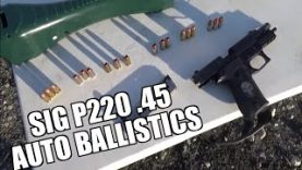 Sig P220 Ballistics