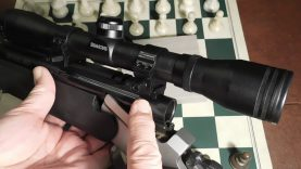 Solution For Scope Mounting The TC Encore 12 Gauge Slug Gun
