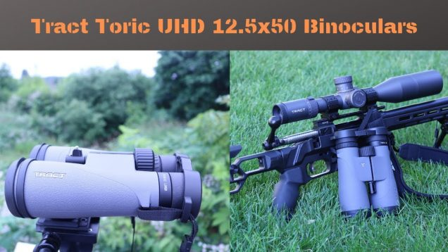 The New Tract Binoculars, 12.5×50 UHD