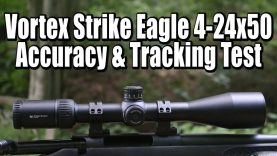 Vortex Strike Eagle 4-24×50 Accuracy and Tracking Test