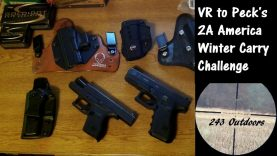VR to The Peck's 2A America Cold Weather Carry Gun Challenge