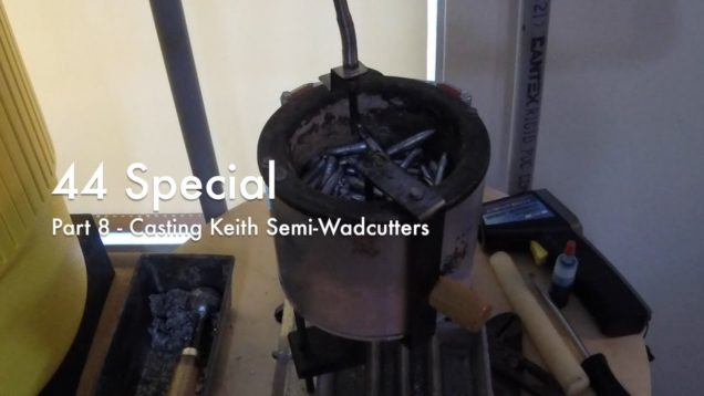 WCChapin | 44 Special – Part 8 – Casting Keith Semi-Wadcutters