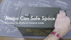 WCChapin | Ammo Can Safe Space – Revealing the Mythical Creature Inside