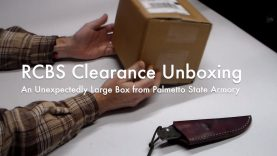 WCChapin | RCBS Clearance Unboxing – An Unexpectedly Large Box from Palmetto State Armory