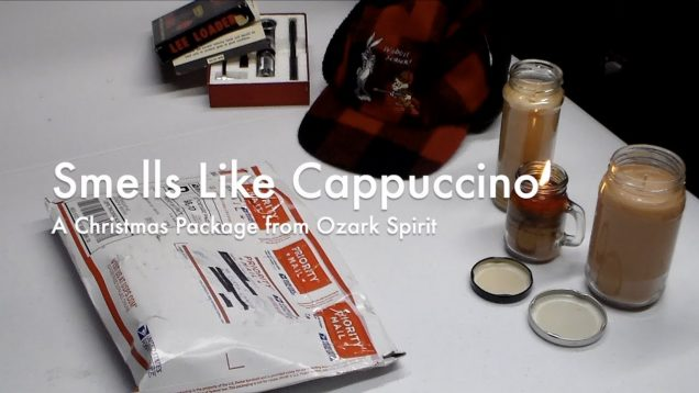 WCChapin | Smells Like Cappuccino – A Christmas Package from Ozark Spirit