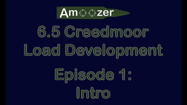 Welcome to 6.5 Creedmoor