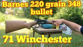 Winchester 71, 348 Barnes original 220 gr