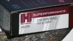 .338 Winchester Magnum Hornady 185gr GMX Review Ruger M77