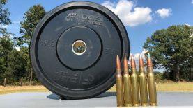 50 BMG vs Bumper Plate ?️♂️
