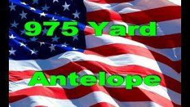 975 Yard Antelope 2019