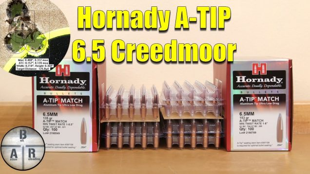 Hornady A-TIP 153 and 135gr – overview and load test