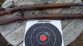 Shooting the M1903 and the Mauser K98k