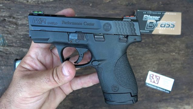 Smith & Wesson M&P Shield Performance Center ~