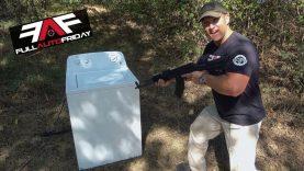 Full Auto Friday! AK-47 vs Washing Machine ?