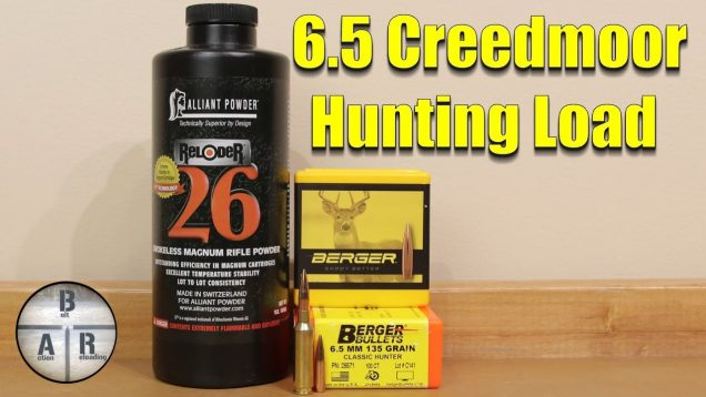 Hunting Load- Validating our 6.5 Creedmoor 135 gr Berger Classic Hunter