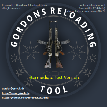 Gordons Reloading Tool (GRT), How to Start Using 2