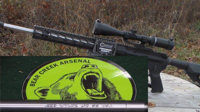 Bear Creek Arsenal 223 Wylde Barrel AR Build