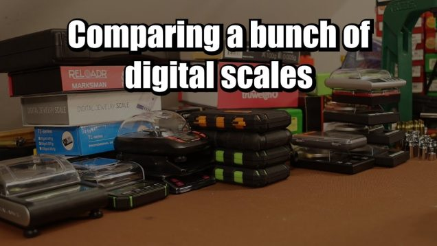 Digital Scale Shootout