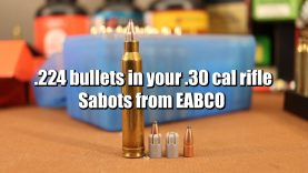 EABCO Sabots – .224 bullets in your .30 cal rifle