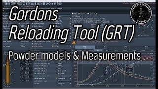 Gordons Reloading Tool GRT and how powder models are developed
