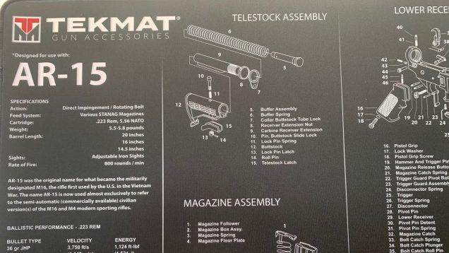 TEKMAT Ultra Gun Cleaning Mat