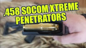 .458 Socom UNDERWOOD XTREME PENETRATORS Ballistics Review