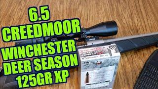 6.5 Creedmoor Winchester Deer Season 125gr XP