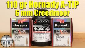 Hornady A-TIP 110gr – 6 mm Creedmoor – Overview and Load Test
