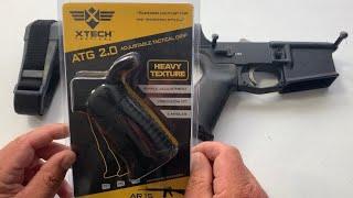 Xtech pistol grip for the AR-15/AR-10