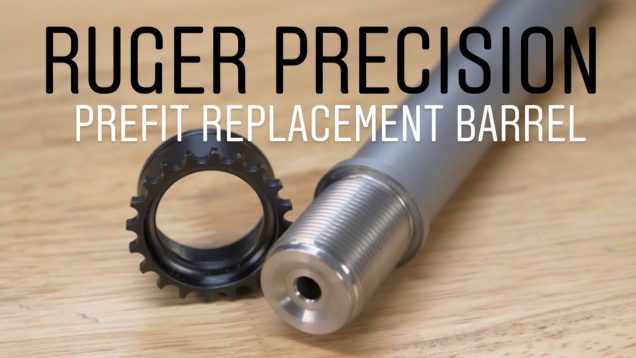 Ruger Precision Replacement Barrel, Preferred Barrels!