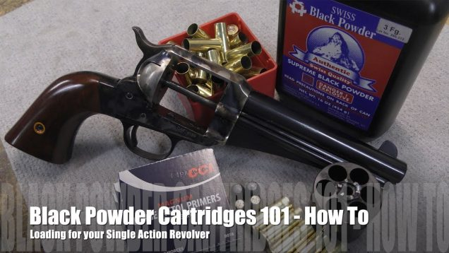 The Accurate Revolver – Loading Cimarron – 44 -40 Uberti Single Actions