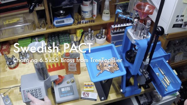 WCChapin | Swedish PACT –  Charging 6.5×55 Brass from TreeTopFlier