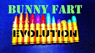 """Evolution of the """"Bunny Fart"""" Load in 300 AAC Blackout (quiet lightweight subs)"""