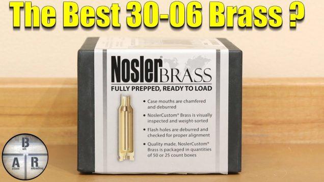 30 06 Springfield Nosler Brass