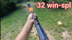 32 Win-Spl Model 94 Winchester with 165 gr  FTX Bullets