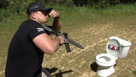 458 SOCOM vs AK-47 vs Toilets ? (Full Auto Friday)