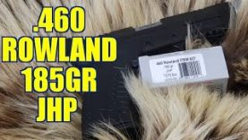 460 Rowland 185gr Underwood JHP