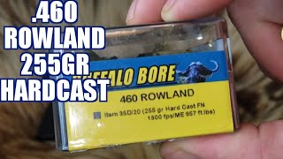 460 Rowland 255gr Buffalo Bore Hardcast