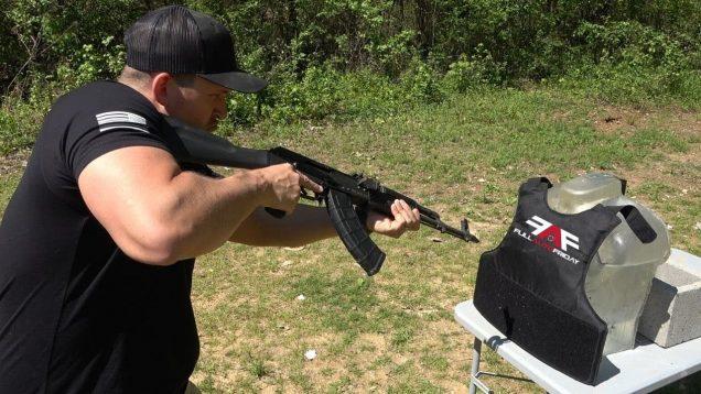 Full Auto AK-47 & 458 SOCOM vs Body Armor (Full Auto Friday)
