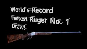 How Fast Can YOU Draw A Ruger No. 1?