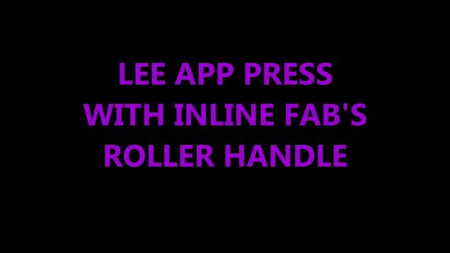 LEE APP PRESS WITH INLINE FAB'S ROLLER HANDLE
