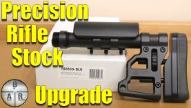 Precision Rifle Stock Upgrade – MDT Skeleton Carbine Stock
