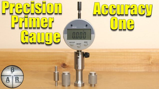 Primer Pocket Gauge by Accuracy One –  primer seating, primer pocket, and primer thickness!