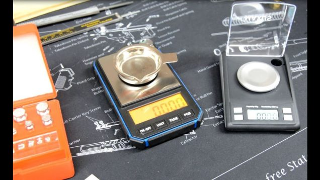 Scale Study 3  – Maxus Dante 50gScale and a Inexpensive Weight Set