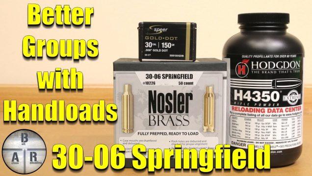 30 06 Springfield – Speer Gold Dot H4350
